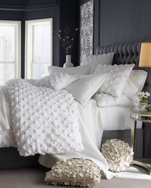 contemporary bedroom linens 1