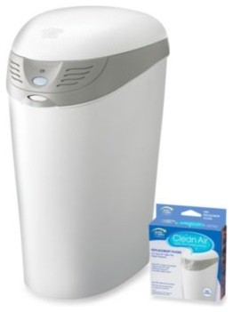 The First Years Clean Air Odor Free Diaper Disposal System - Contemporary - Trash & Recycling ...