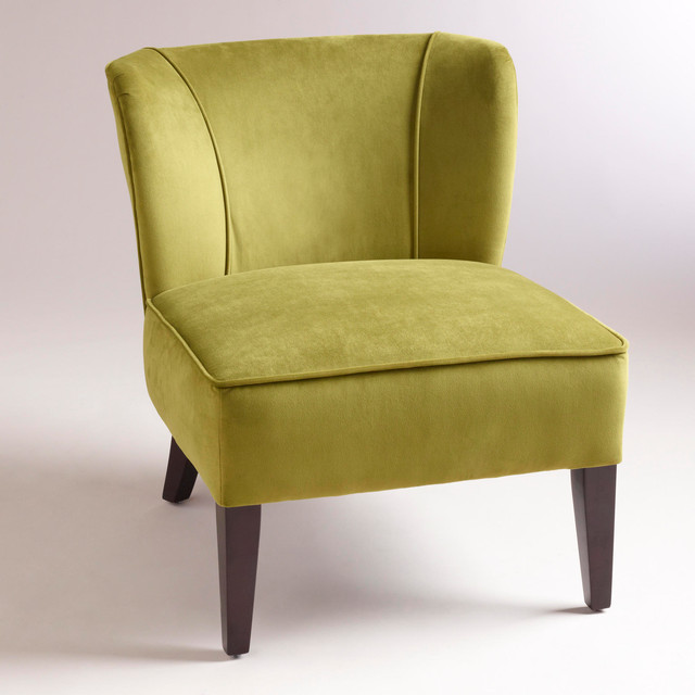 Apple green quincy chair contemporary living room for Furniture 888 formerly green apple
