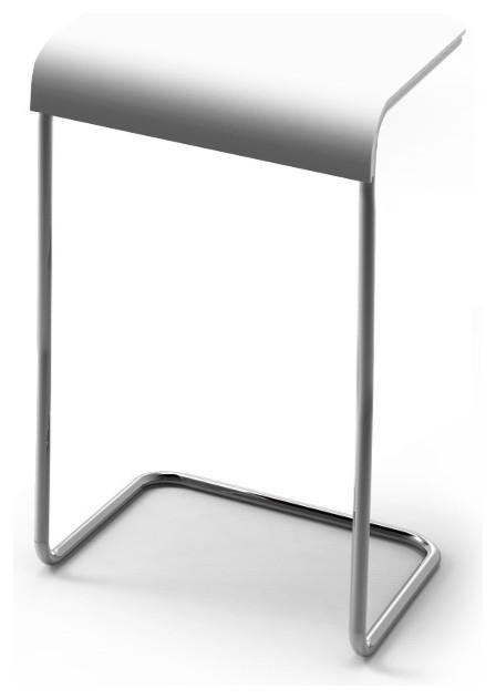farallon side table beistelltisch wei hoch danese milano. Black Bedroom Furniture Sets. Home Design Ideas