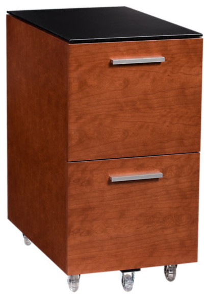 Sequel Tall File Pedestal - Contemporary - Filing Cabinets - by SmartFurniture
