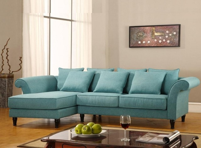 Contemporary turquoise sectional sofa bt 0565 starting at 1 contemporary sectional - Turquoise sofa ...