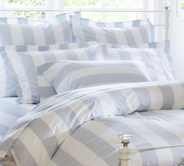 pb classic stripe 400 thread count duvet cover sham