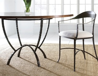 Hudson 60 round dining table by charleston forge for Dining room tables milwaukee