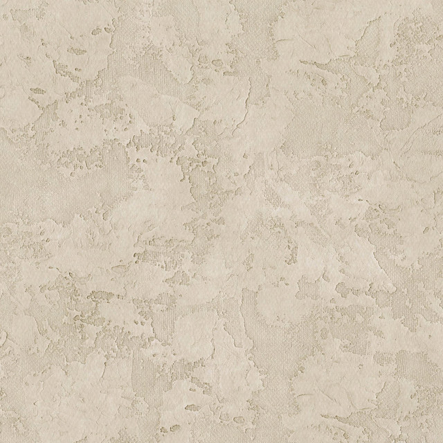 Texture Beige Stucco Wallpaper Contemporary Wallpaper