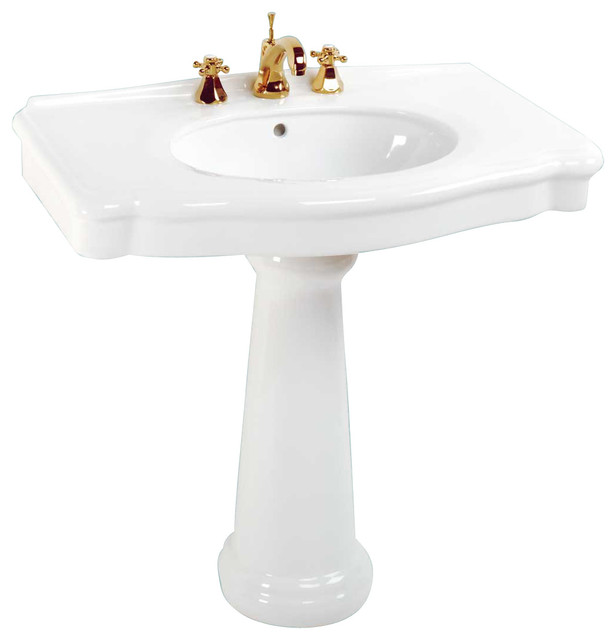 sink white china white darbyshire 8 bore contemporary bathroom sinks