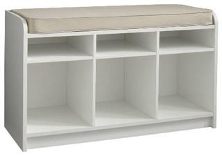 Martha Stewart Living Cubbie-Storage Bench With Seat - Contemporary - Storage And Organization ...
