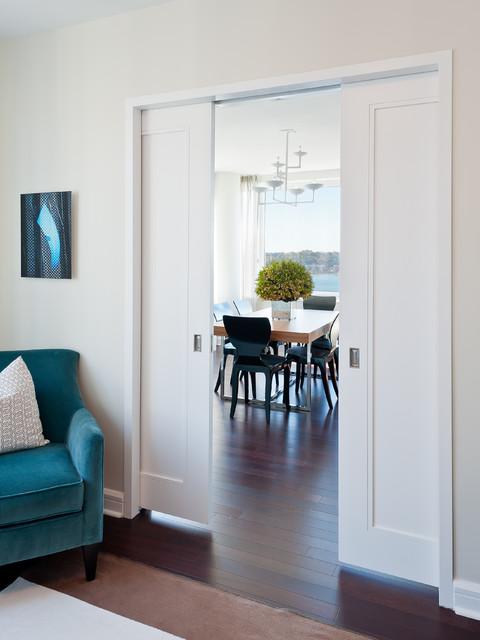 Tivoli pocket doors contemporary interior doors - Modern pocket doors interior ...