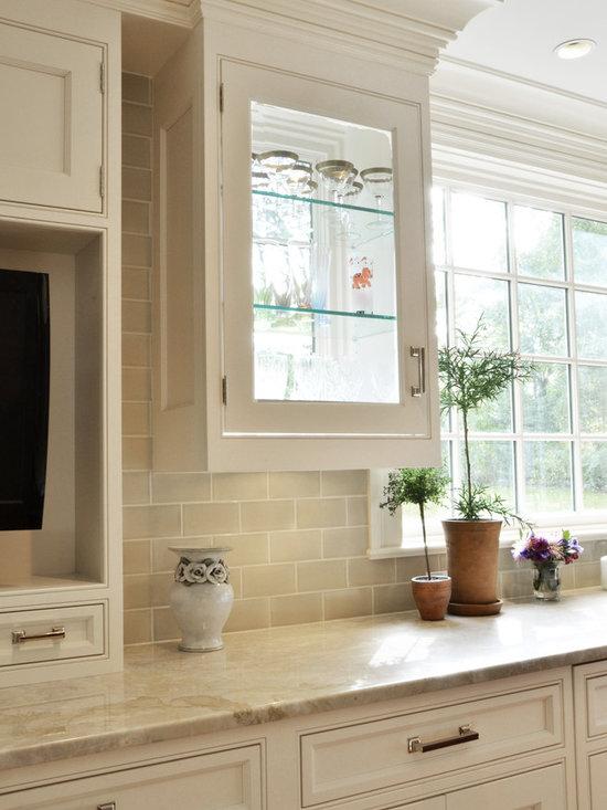 crackle tile backsplash home design ideas pictures remodel and decor