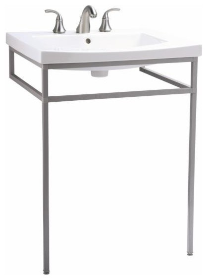 KOHLER K-2526-F64 Persuade Console Table in Shale traditional-bathroom ...