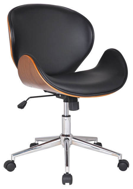 Office Chair Leatherette Cushion Seat Seat Cushions By Peazz