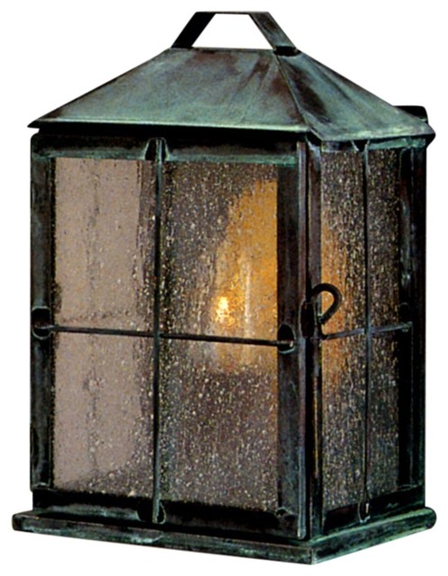 New Hope Colonial Wall Sconce Copper Lantern Outdoor Light