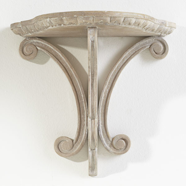 Lily Pad Shelf Traditional Display And Wall Shelves Dallas By Wisteria