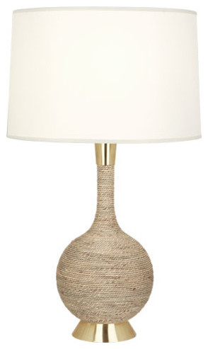 robert abbey laguna table lamp modern brass contemporary table lamps