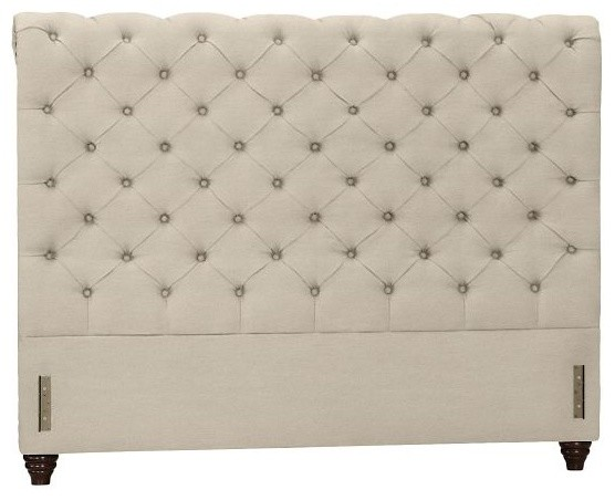 Chesterfield Upholstered Headboard Contemporary
