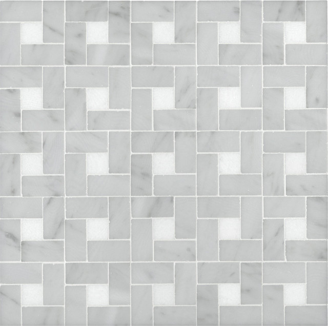 Signet Collection Arc DMidi Mosaic Transitional Tile
