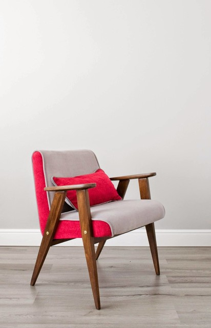 Upcycled Mid Century Armchairs