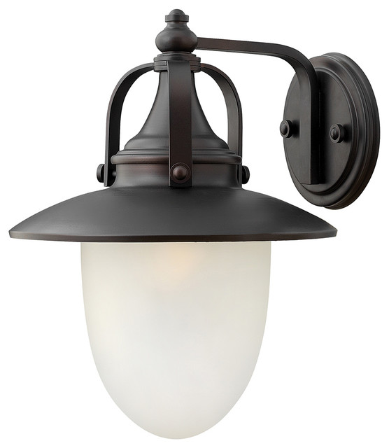 Pembrook large outdoor wall sconce