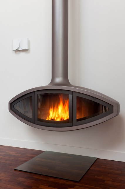 Suspended Fire For New Build In Cantebury Uk