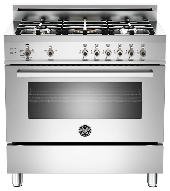 36 quot professional series 5 burner gas oven modern ovens other