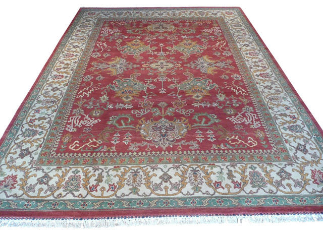 8 11x11 11 Oushak Rug Traditional Area Rugs By