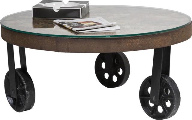 Couchtisch Memory Round Ø 90cm  Contemporain  Table