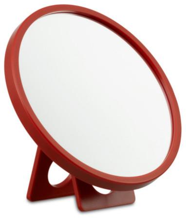 Kali vergr erungsspiegel korallenrot authentics bauhaus look badspiegel von found4you - Bauhaus badspiegel ...