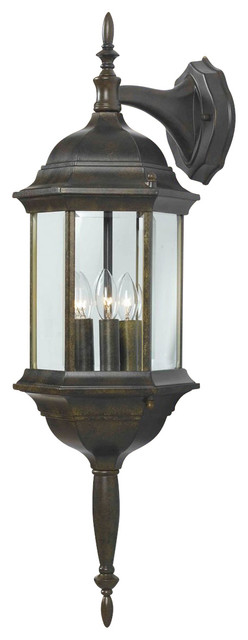 Kenroy 16267GBRZ Custom Transitional Outdoor Wall Sconce - Transitional - Outdoor Wall Lights ...