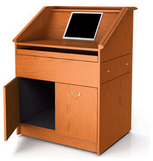 ... Presentation Lecterns by Nevers Industries - Modern - Filing Cabinets