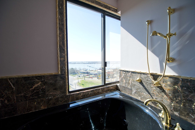 condo remodel traditional bathroom new orleans by