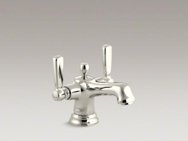 Kohler Bancroft R Monoblock Single Hole Bathroom Sink Faucet With Escutcheon An Contemporary
