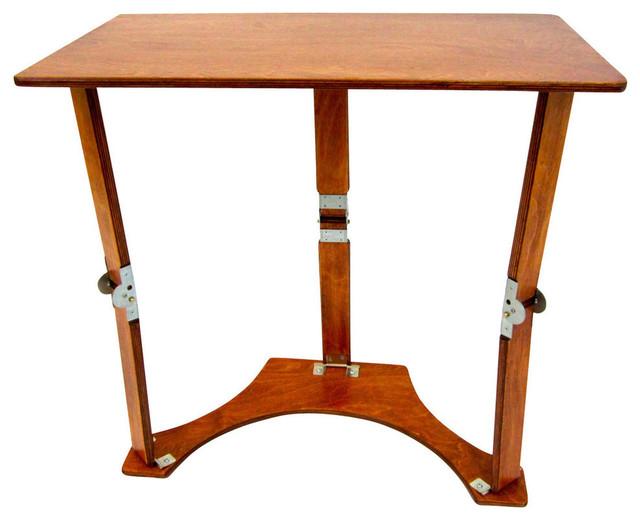 Spiderlegs Wooden Folding Laptop Desk Tray Table Tv