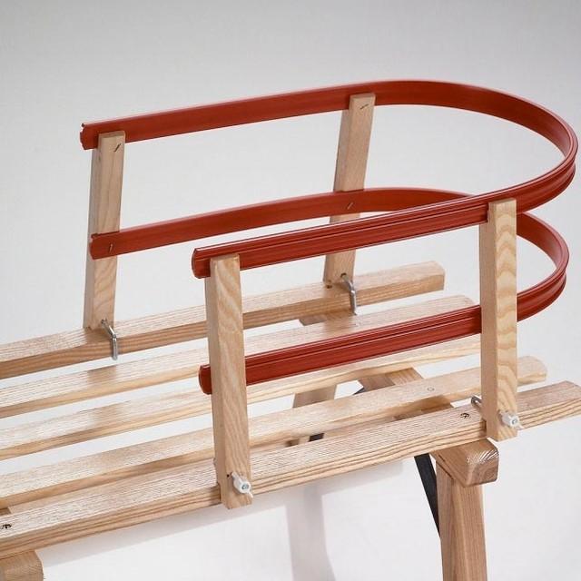 Gartenmobel Holz Aus Polen : Kinderlehne Rodelschlitten Sirch  BauhausLook  Kinderspielzeug [R