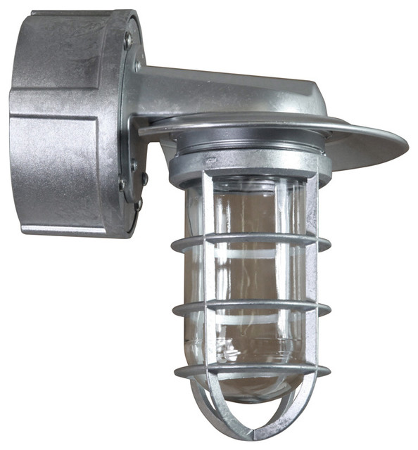Wall Sconce, Galvanized - Industrial - Wall Sconces - by ANP Lighting