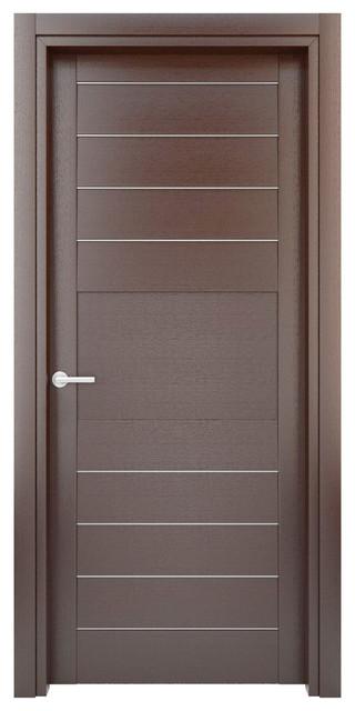 Solid Wood Interior Door Model W31s Modern Interior