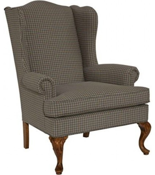 Broyhill - Greta Cherry Stain Chair - 9020-0 - Traditional ...