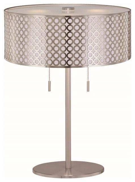 Lite Source Netto Modern Contemporary Table Lamp Contemporary Table Lamps By Alinda Morris