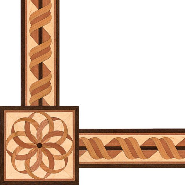 Oshkosh Designs Estancia Inlay Border And Corner