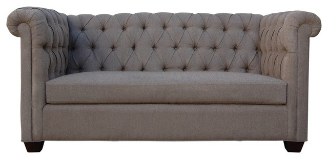 Kara Tufted Sofa Traditional Sofas Atlanta By