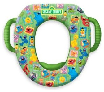 Http Www Houzz Com Photos 11302018 Ginsey Sesame Street Framed Soft Potty Seat Contemporary Kids Bathroom Accessories