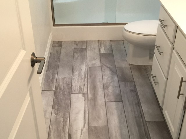 tile rustic bathroom las vegas by expert flooring solutions