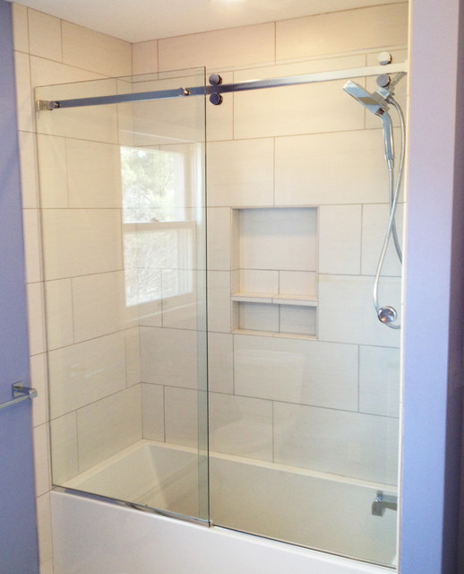 Serenity Sliding Shower Door Contemporary Other By