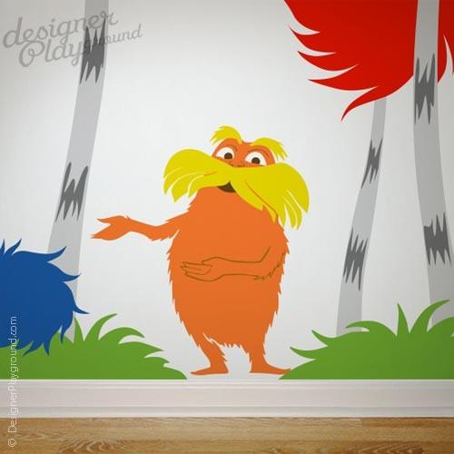 Dr Seuss Wall Decal Traditional Nursery Decor