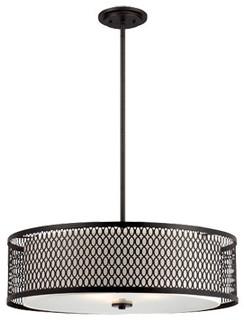 "Continental 26"" Pendant - Contemporary - Pendant Lighting - by Fratantoni Lifestyles"