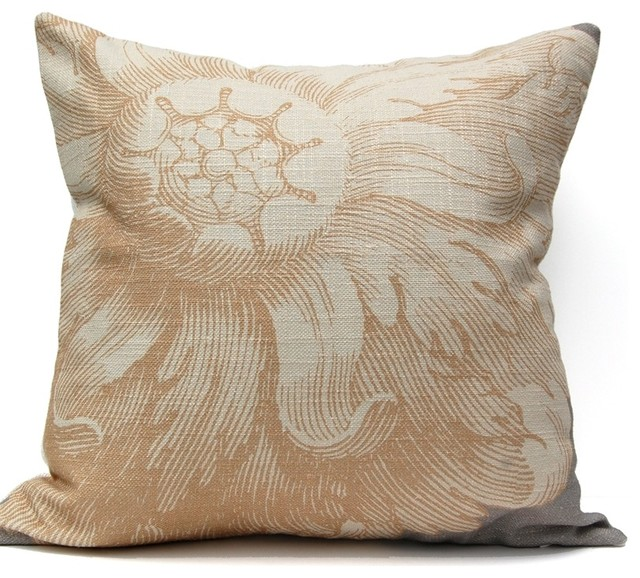 Rosette Decorative Pillow : Rosette Pillow - Farmhouse - Decorative Pillows - by Company 415
