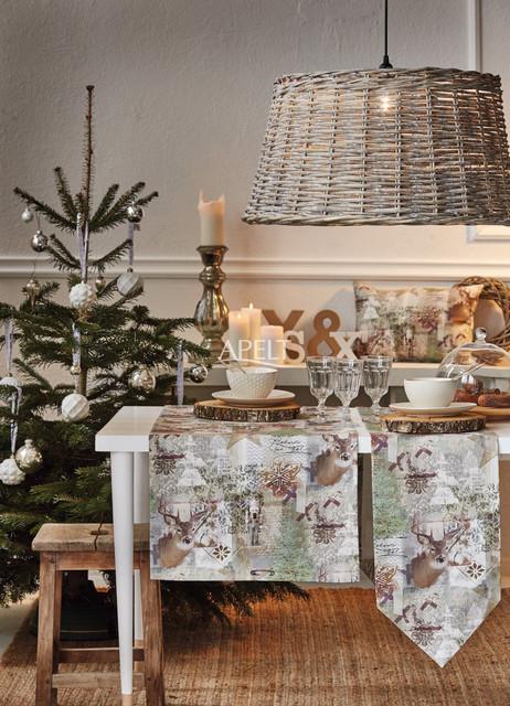 winterwelt tischl ufer und tischband modern. Black Bedroom Furniture Sets. Home Design Ideas