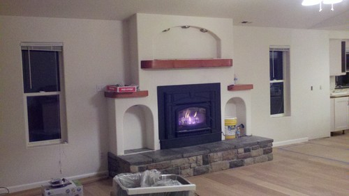 Improve House Appearance With Fireless Fireplace : Improve House Appearance With Fireless Fireplace : How can we improve ...