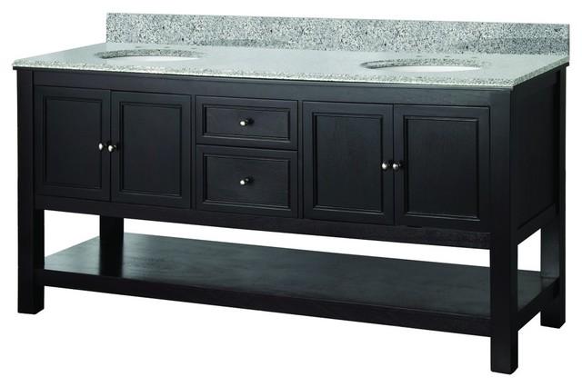 vanity top in traditional bathroom vanities and sink consoles by