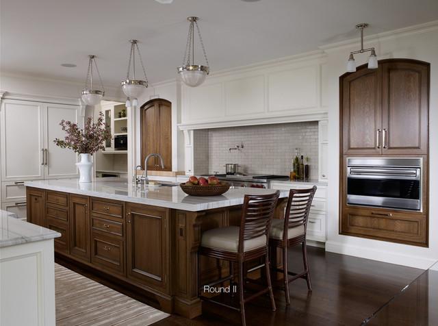 Round ii for 1850 design della cucina