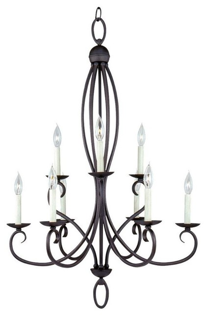 Sea Gull Lighting Five  Light Chandeliers Contemporary Lighting By